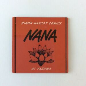 Nana Ai Yazawa Lotus Ribon Mascot Comics Mini Magnet Rare Anime Japan
