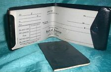 Vtg Bank of America National Trust/Savings Check Book w/25 Checks & Register