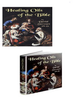 Healing Oils of the Bible SET (Paperback and DVD) by David Stewart  BRAND NEW