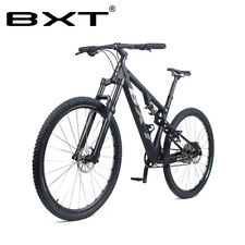 29er Full Suspension Carbon Mountain Complete Bike MTB Bicycle S M L XL Frame
