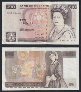 Regno Unito 10 pounds 1988(91) BB+/VF+  A-07