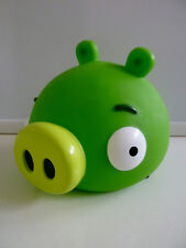 "RARE NEW Angry Birds Pig Piggy Bank Vinyl with Stopper Bad Piggies 5"" NWT"