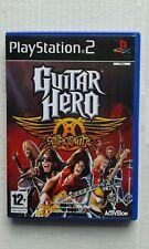 GUITAR HERO AEROSMITH SONY PLAYSTATION PS2 ACTIVISION 2008 PAL ITA COMPLETO
