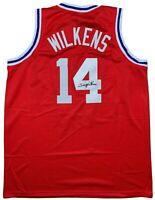Lenny Wilkens autographed signed jersey NBA St. Louis Hawks JSA COA
