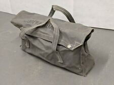 More details for british army - military - mod - canvas tool bag satchel - land rover - vintage