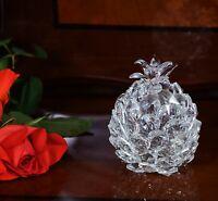 Crystal Cut Italian Style Pineapple Like Swarovski Element with Gift Box Xmas