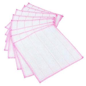 Kitchen Washing Cloths Dishcloths Rags Towel Bamboo Fiber Home Anti Greasy B_cd