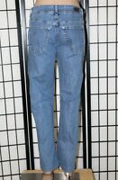 LEE RIDERS Women's Size 14 P x 28 Straight Leg Stretch Denim Jeans GUC