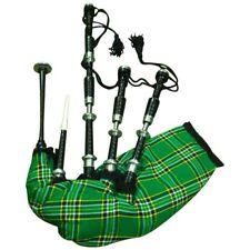 TC Écossais Excellents Highlands Cornemuses Palissandre Couleur Noir Argent