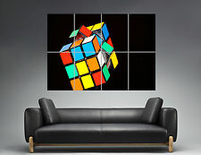 Rubiks Cube Wall Art Poster Grand format A0 Large Print