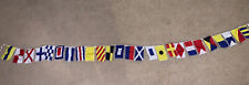In the Breeze Maritime Flags 8 Foot Long Mini Flags Fabric