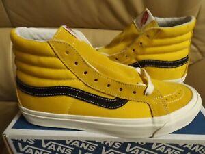 Vans Og Sk8-Hi Lx (Suede/Canvas) Men's Size 12 Shoes Oldgold/Black VN0A4BVBVZ6