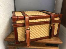 Leder Koffer 24 cm. Top Zustand