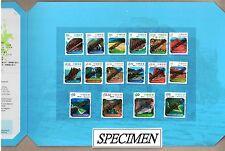 Hong Kong 2014 landscapes of Global Geopark Definitive Stamps Specimen Pack