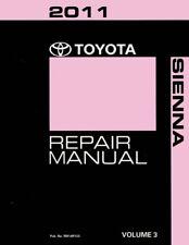 sienna service manual ebay rh ebay ca 2011 toyota sienna service manual 2011 toyota sienna factory service manual