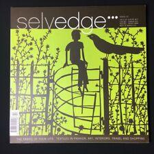 Rob Ryan Selvedge magazine Issue 22 March April 2008 textiles fashion art