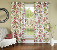 """m.style Tessa Curtain Panel Pair, Opal, 84"""" length, each panel is 40"""" wide"""