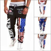 Plus Size Men's Trousers Sweatpants Slacks Casual Jogger Dance Baggy Sportwear