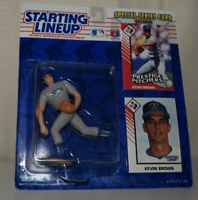 1993 STARTING LINEUP 68019 -KEVIN BROWN*TEXAS RANGERS- MLB SLU 2 CARDS