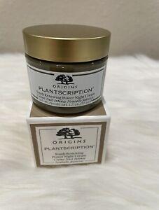 NEW Origins Plantscription Youth-Renewing Power Night Cream 1.7 oz. retail $64