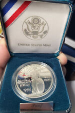 1996 National Community Service Commemorative 90 % Silver Dollar
