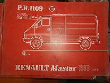 Renault MASTER propulsion : catalogue pièces PR1109-10