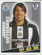 # 327 Gutierrez # Argentina newcastle united topps premier league sticker 2009