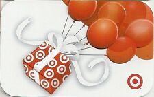 Target Gift Present Box Red Balloons 2012 Gift Card 790-01-1559 Collectible