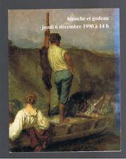TABLEAUX ANCIENS MODERNES ART NOUVEAU DECO EXTREME ORIENT  CATALOGUE VENTE 1990
