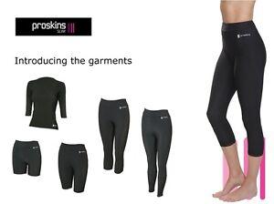 Proskins SLIM Woman's CAPRI Cellulite Leggings Slimming Caffeine Pants Reduction