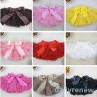 Baby Girls Princess Pettiskirt Tutu Skirts Kids Chiffon Dancewear Costume 1-7Y