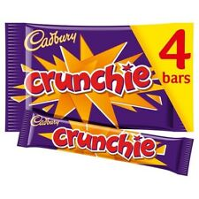 1x  Cadbury Crunchy Honeycomb Chocolate Bar 4 Pack 34g Each