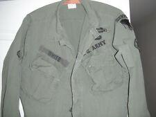 Original Vietnam 1st Field Force Jungle Jacket 1967 Identified Long Range Recon