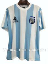 Maradona Argentina world cup 1986 jersey maglia camiseta  (retro)