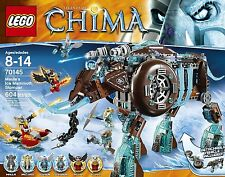 Lego Legends of Chima 70145 Maula's Ice Mammoth Stomper  BRAND NEW