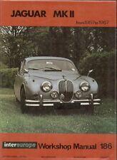 JAGUAR MK2 2.4 3.4 3.8 240 & 340 MODELS 1957 - 1967 OWNERS WORKSHOP MANUAL