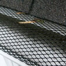 10M GUTTER MESH ROOF GUTTERING GUARD COVER TO STOP LEAF & DEBRIS CLOGGS BLOCKS