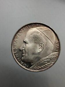 Citta' del Vaticano / Vatican Giovanni Paolo II 500 Lire 1979 dc/unc arg.
