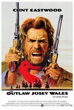 "THE OUTLAW JOSEY WALES Movie Poster [Licensed-New-USA] 27x40"" Theater Size Clint"
