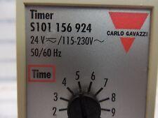 Carlo Gavazzi, Timing Relay Timer, S101 156 924, 115-230 VAC 24 VDC, 50-60Hz