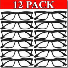 READING GLASSES MENS WOMENS READERS UNISEX 12 PACK WHOLESALE BULK LOT NEW