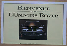 rare catalogue gamme Rover France 1993 - 8p Mini Cooper GTi Cabrio 827 Si