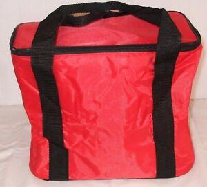 Red Cooler Bag