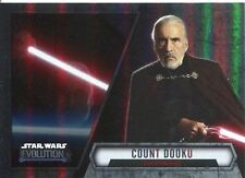 Star Wars Evolution 2016 Base Card #98 Count Dooku - Sith Apprentice
