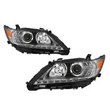 For 13-15 Lexus ES Halogen Model Upgrade Replacement LED Bar Projector Headlight