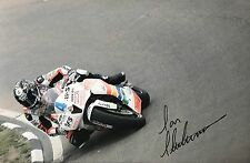 Ian Hutchinson Hand Signed Padgett Honda 18x12 Photo ISLE OF MAN TT 1.