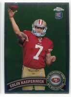 2011 Colin Kaepernick Topps Chrome Rookie #25