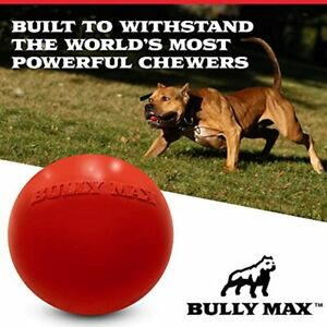 Bully Max - Indestructible Dog Ball for Power Chewers