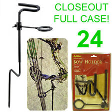 Closeout! 24 New Allen Ground Stake Bow Holder W/ Arrow Ring,Blind Hunting,5284