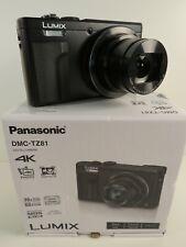 Panasonic Lumix DMC-TZ81 Reisezoom-Kamera schwarz